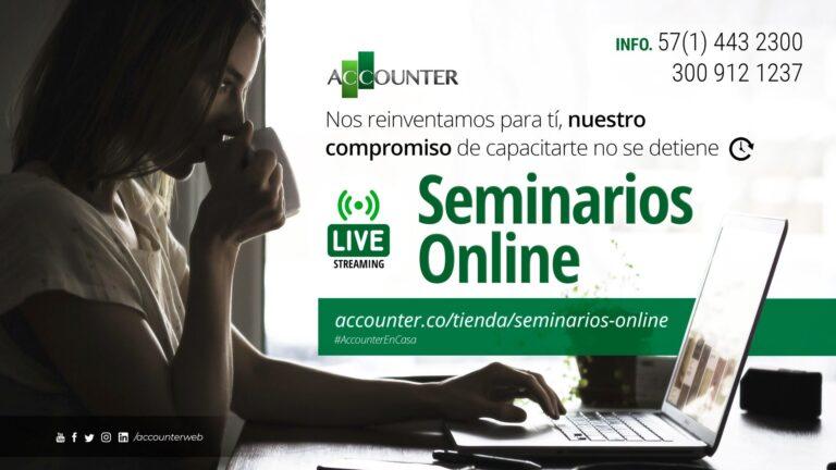 Seminarios Online Accounter